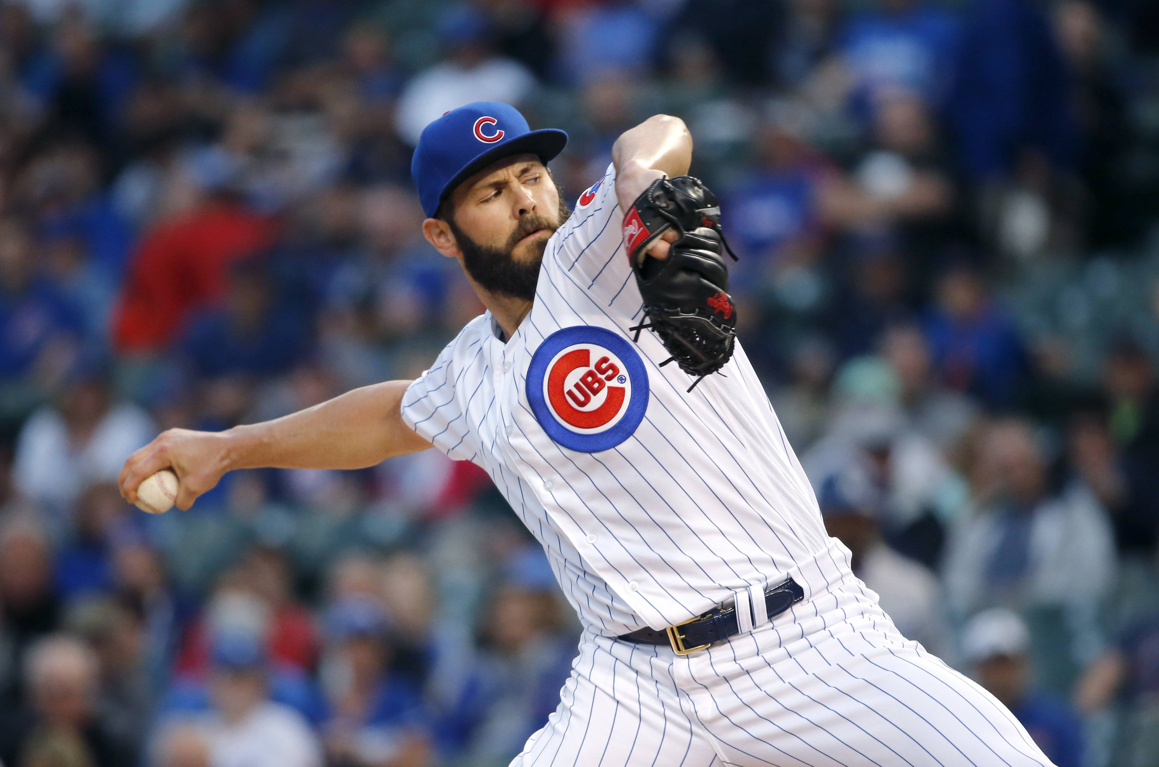 Expected to leave the Cubs as a free agent this winter, Jake Arrieta can exit on a high note with a strong start against the Los Angeles Dodgers in Game 4 of the NLCS tonight.