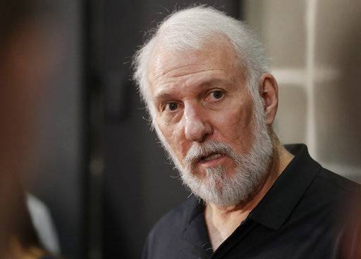 Spurs' Popovich labels Trump 'a soulless coward'