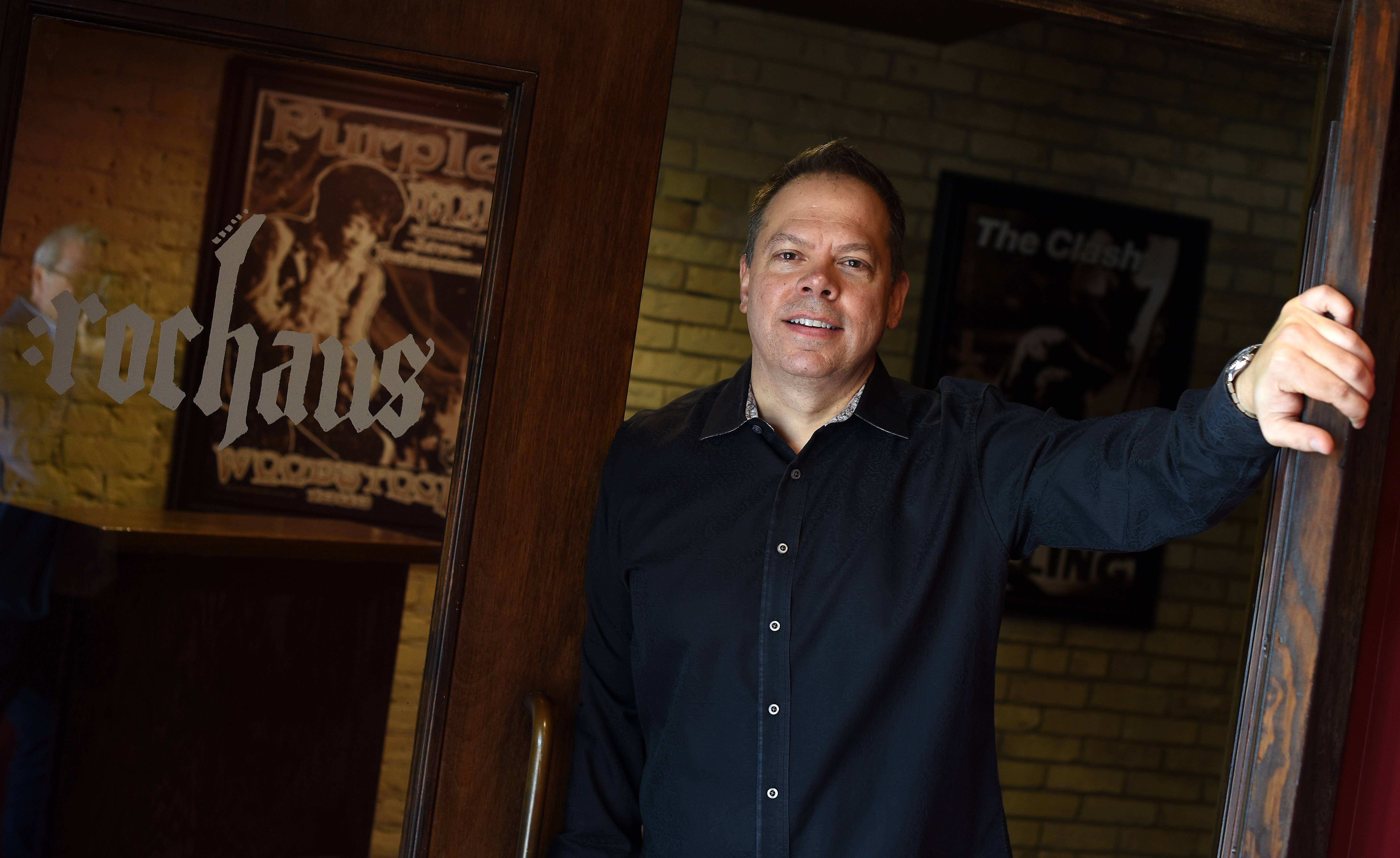 Five years after buying the building, owner Kevin Krak is ready to open the RocHaus theater in downtown West Dundee.