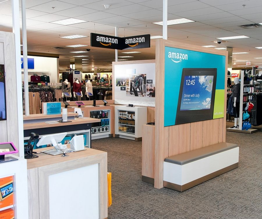 Kohl's Bucktown Store in Chicago was one of a handful of stores to debut Amazon smart home boutiques where Amazon Echo and other products are sold.