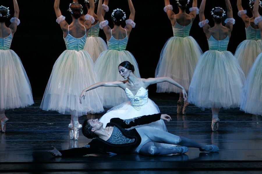 "The Joffrey Ballet presents ""Giselle"" at the Auditorium Theatre of Roosevelt University in Chicago."