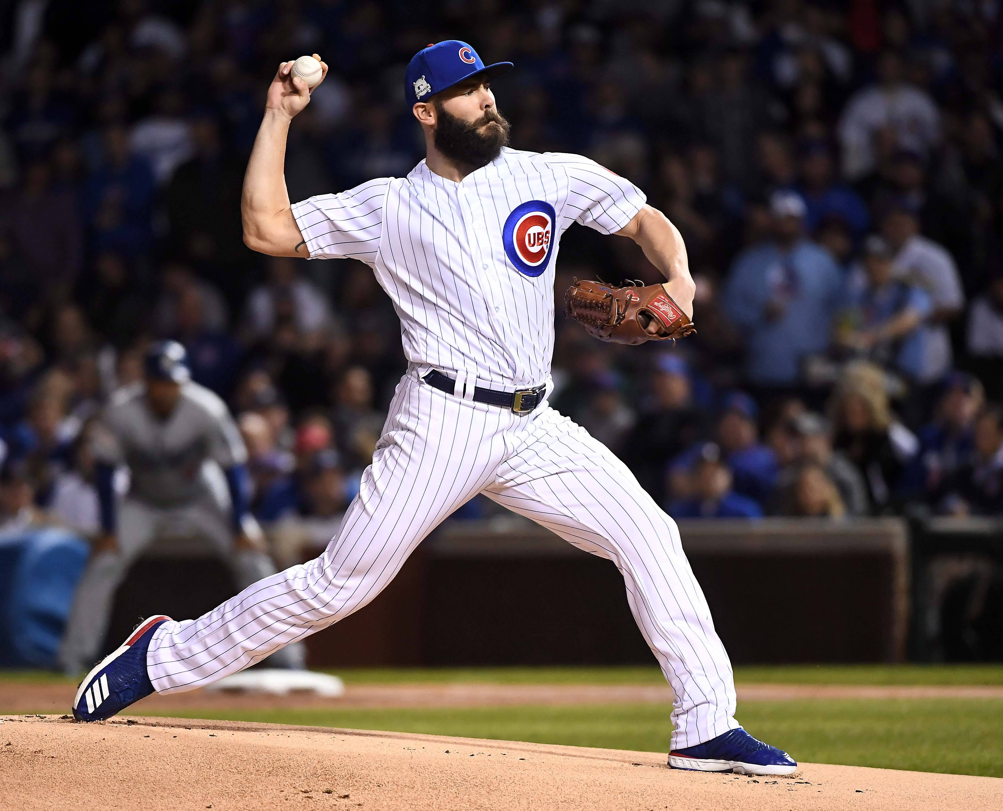 The Cubs needed a big start from Jake Arrieta Wednesday night, and the veteran right-hander delivered. Arrieta held the Dodgers to 1 run in 6⅓ innings and the Cubs won 3-2 in Game 4 of the NLCS at Wrigley Field in Chicago.