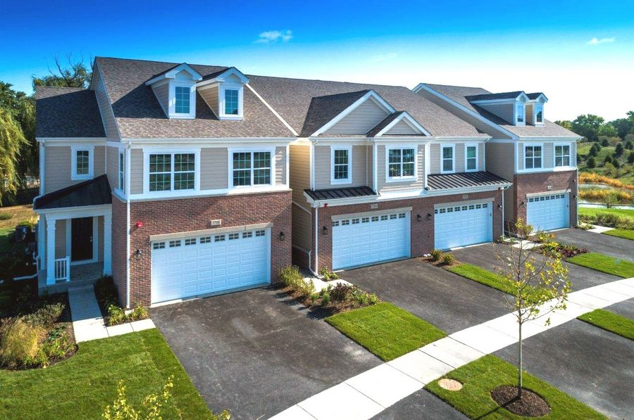 Northbrook-based Red Seal Homes invites buyers to an Oct. 28 grand opening celebration for its new decorated model townhome at Provenance, a community of single-family homes, duplexes and townhomes in the Northbrook area of unincorporated Cook County, Ill. Red Seal Homes