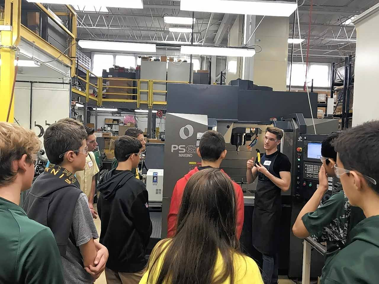 Rogan Molding Technologies, recently celebrated Manufacturing Day by inviting Glenbrook North High School students to explore careers in plastics and manufacturing.