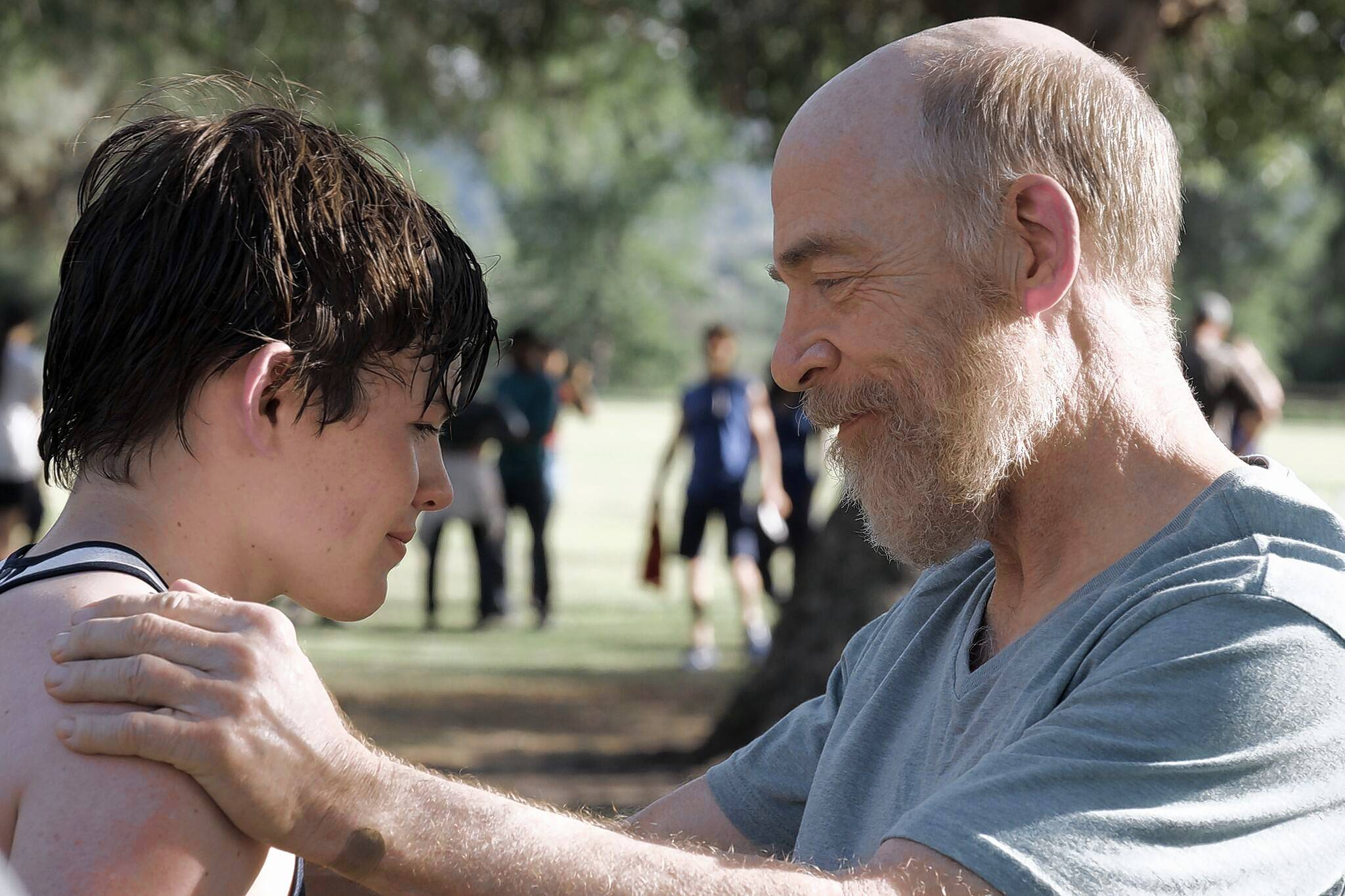 "Oscar-winning actor J.K, Simmons plays a sad widower taking his son (Josh Wiggins) on a cross-country trip in ""The Bachelors,"" opening exclusively at the South Barrington 24."
