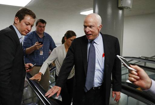 "Sen. John McCain will visit his daughter Meghan on ""The View"" Monday."