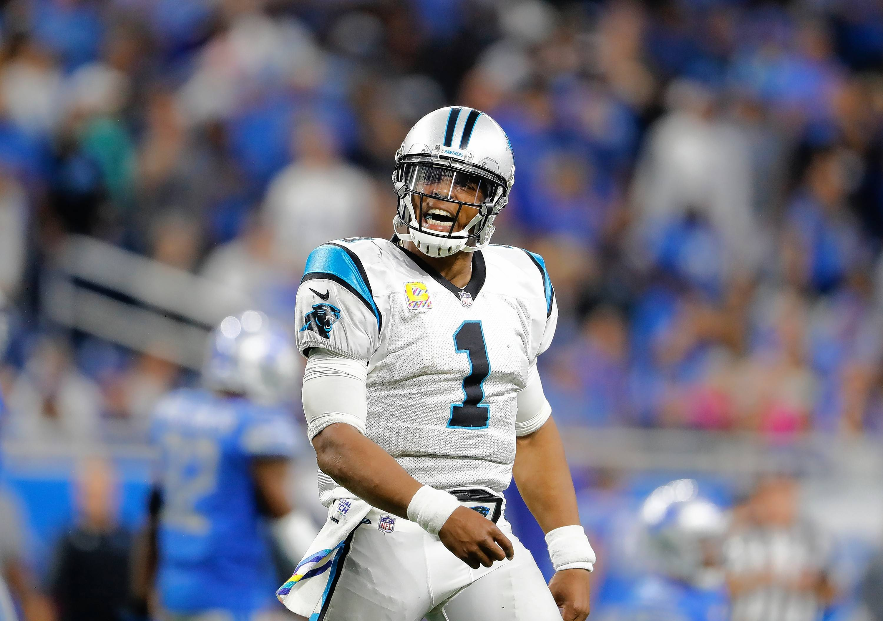 It's still uncertain whether the Carolina Panthers are closer to last year's 6-10 disappointment or the 2015 Super Bowl team that went 15-1. The Bears know quarterback Cam Newton, the 2015 league MVP, will have the most to say about which direction his team takes.