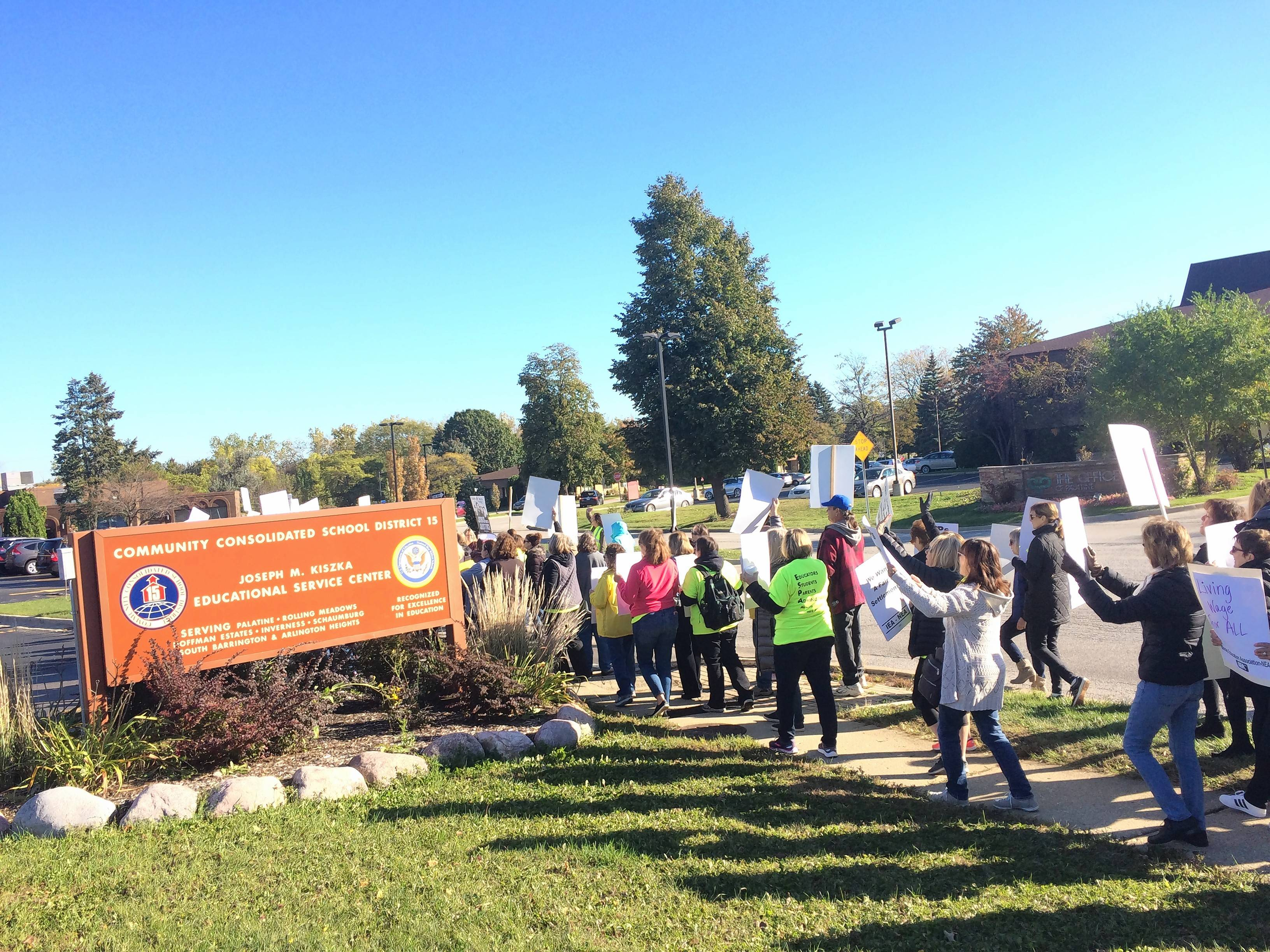 Medical coverage an issue for District 15 strikers