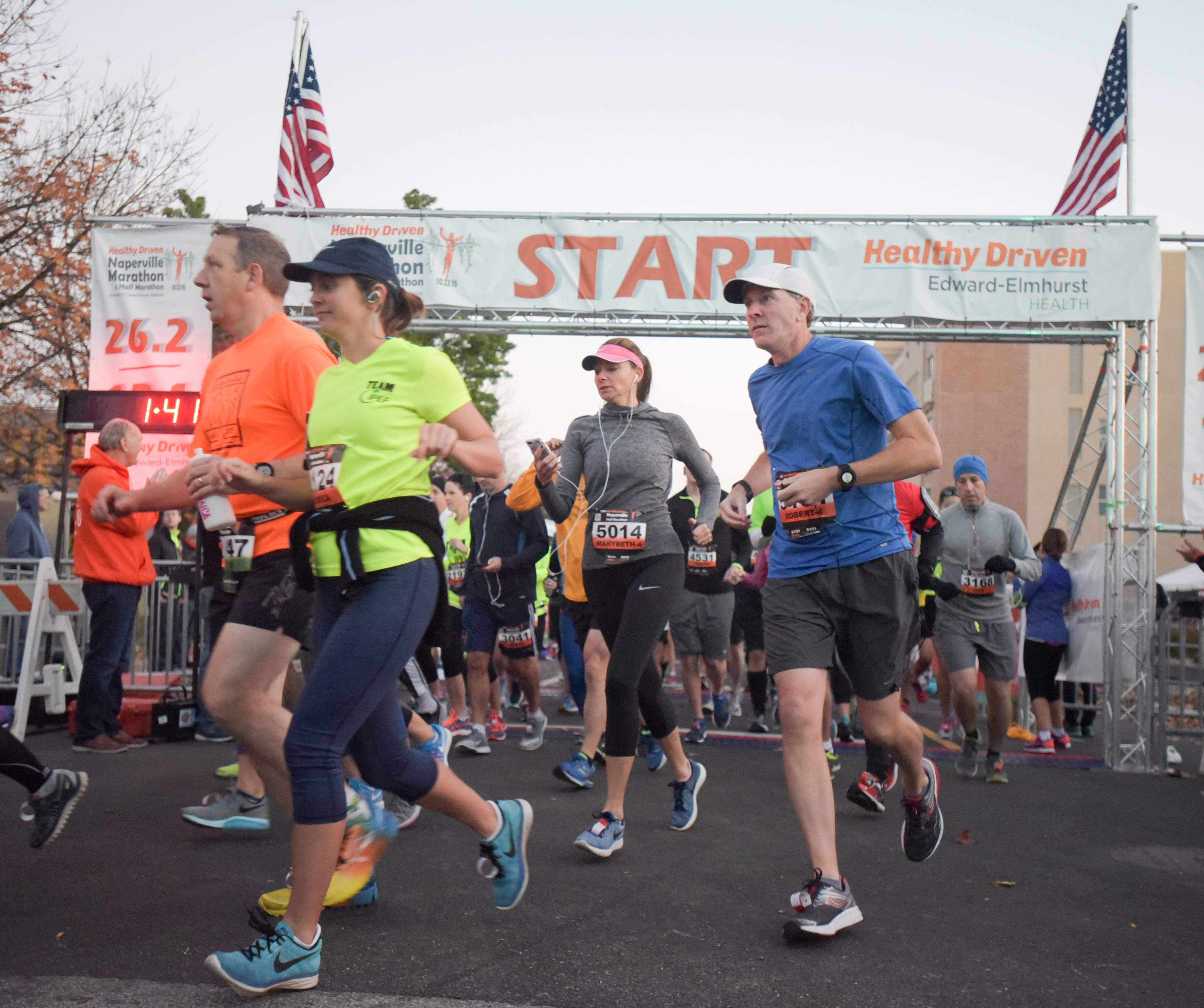 Expect road closures Sunday for Naperville half marathon, 5K