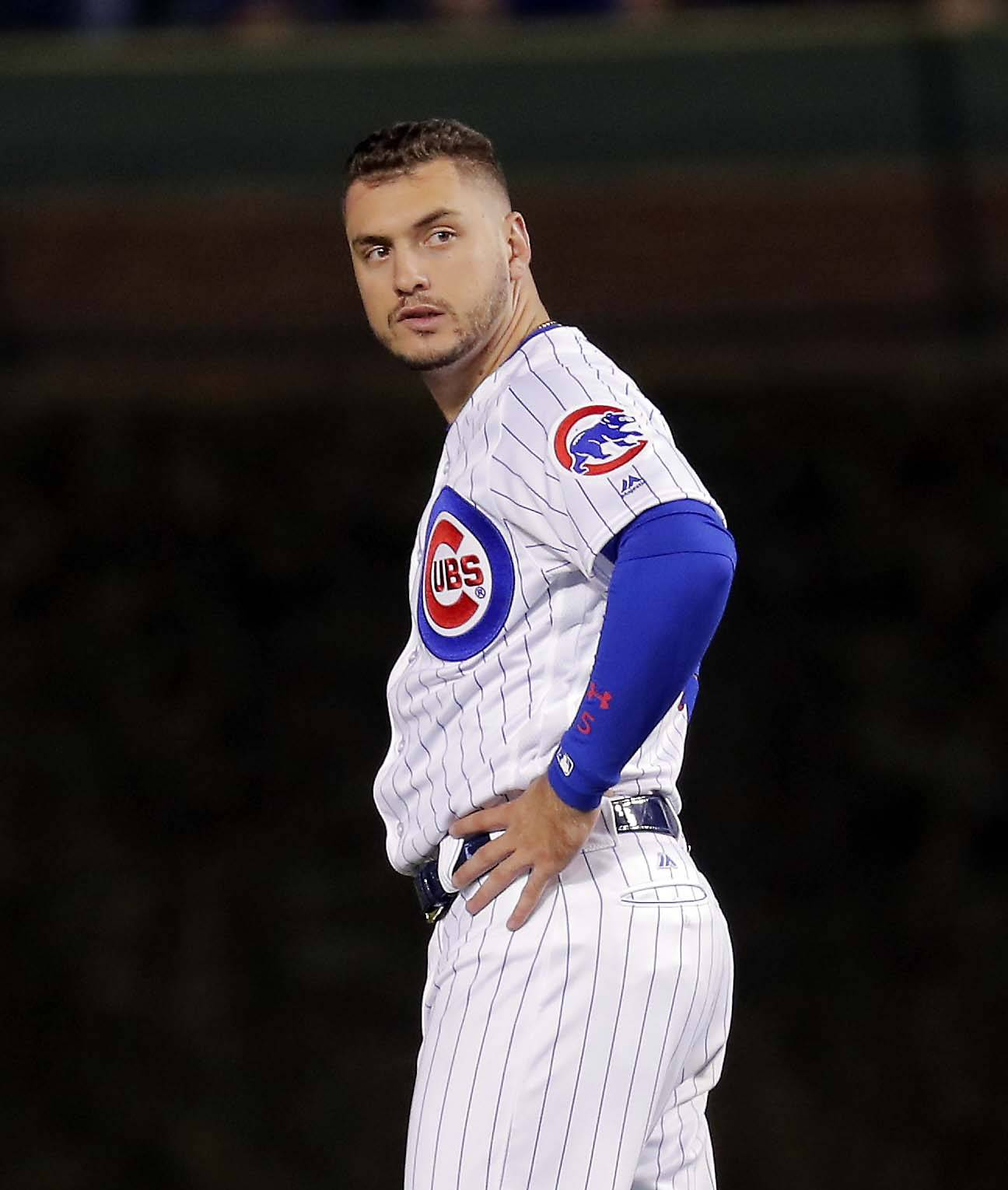 Chicago Cubs center fielder Albert Almora Jr. had 65 starts during the regular season. He hopes to get the change to become an everyday player next season.