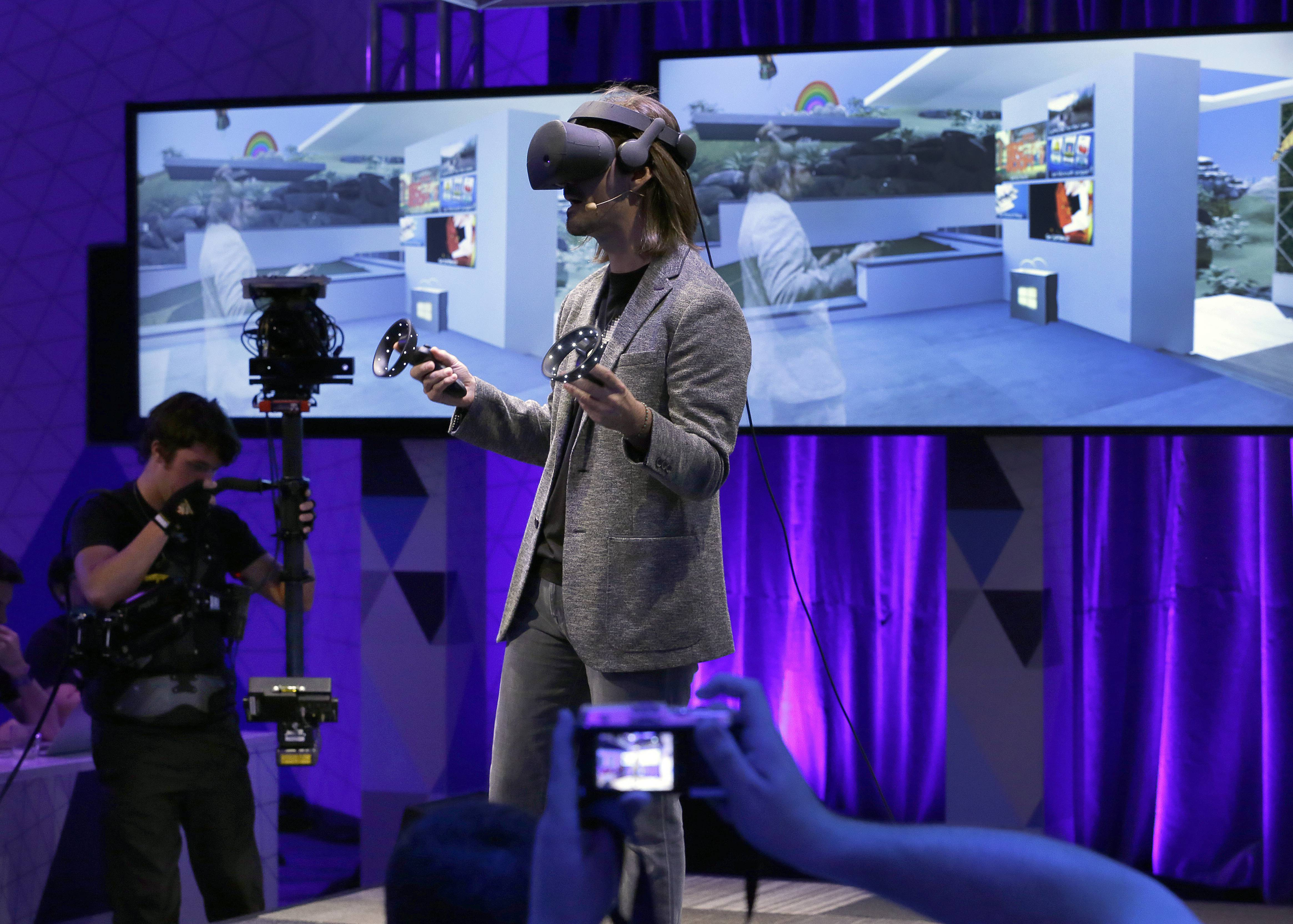 "Microsoft has bet hard on augmented and virtual reality, which it collectively refers to as ""mixed reality"" as it continues to shake off its old, fusty image."