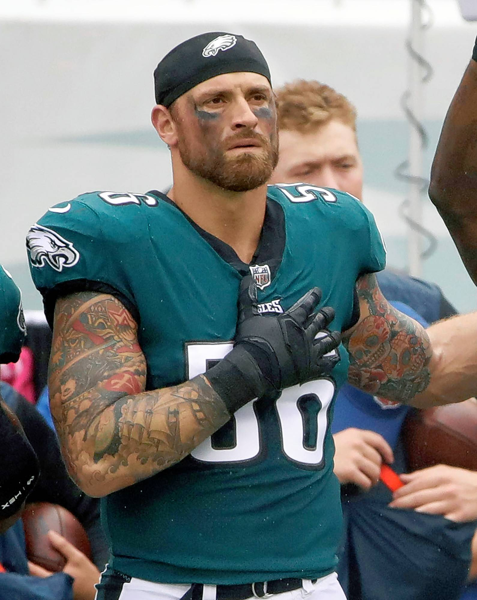 "Philadelphia Eagles' Chris Long, older brother to Chicago Bears guard Kyle Long, is donating his entire 2017 season salary to increase educational equality. ""It speaks volumes about the man that he is,"" the Bears' guard said. ""He's what a lot of people should strive to be like."""