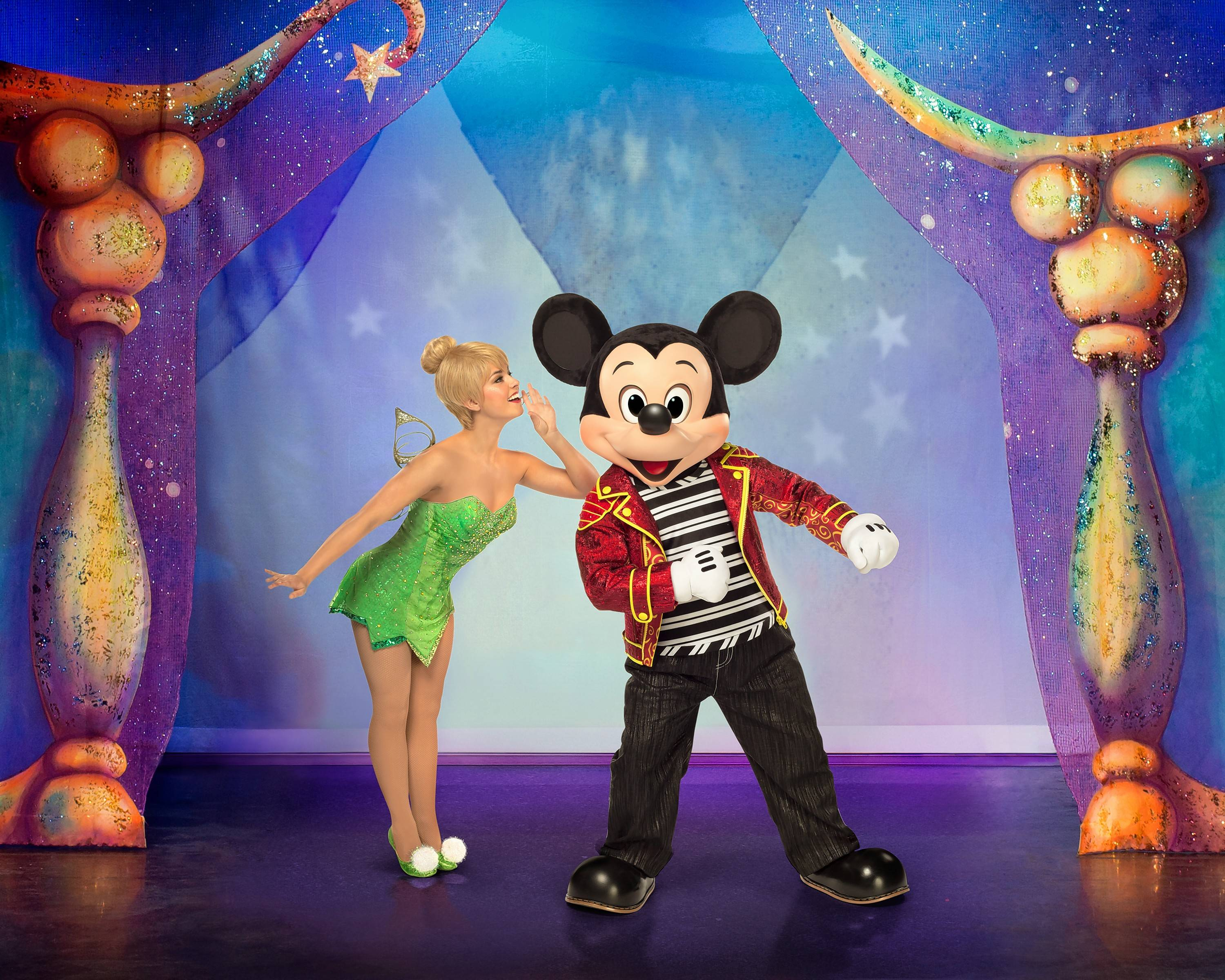 "See Tinker Bell and Mickey Mouse in ""Disney Live! Mickey and Minnie's Doorway to Magic"" this weekend at the Rosemont Theatre."