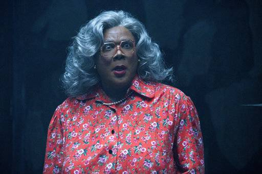 "Tyler Perry as Madea in ""Tyler Perry's Boo! 2 A Madea Halloween."""