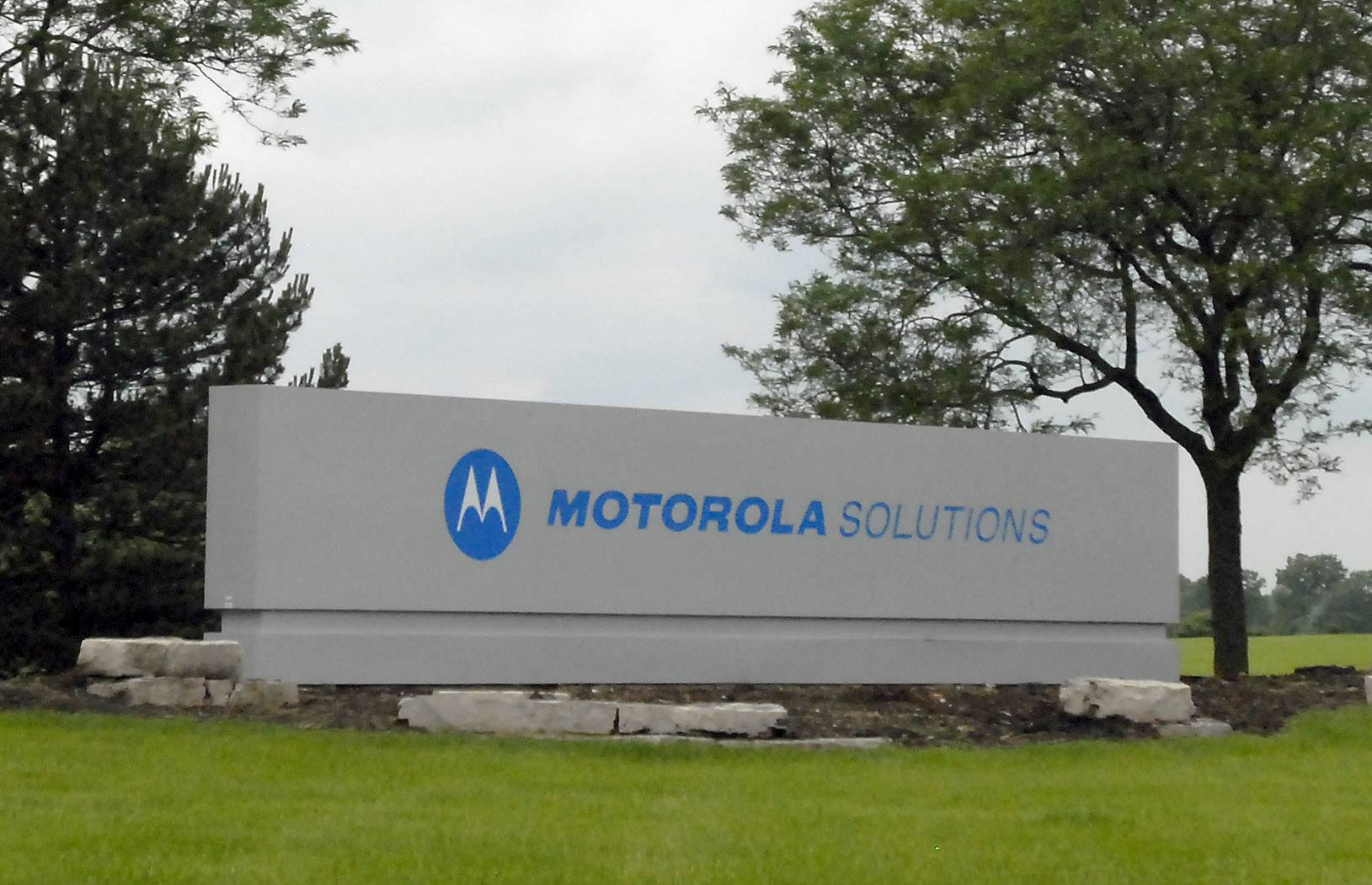 DAILY HERALD FILE PHOTO Motorola Solutions, with offices in Schaumburg, is introducing new communication solutions built specifically for the needs of police and first responders at a showcase this week.