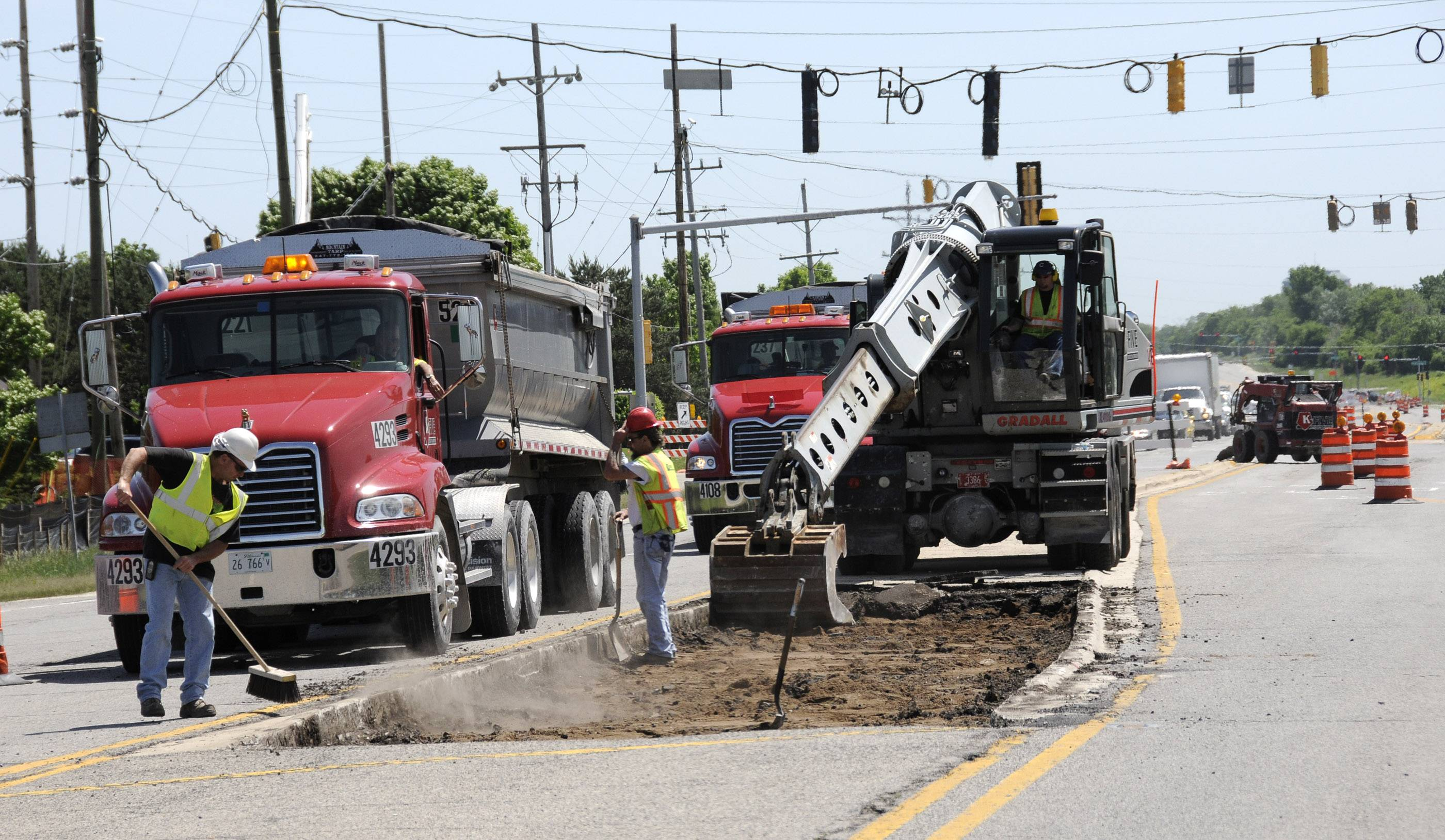 DuPage officials say they might have to slow or postpone some capital projects after learning that the county will get less motor fuel tax money.
