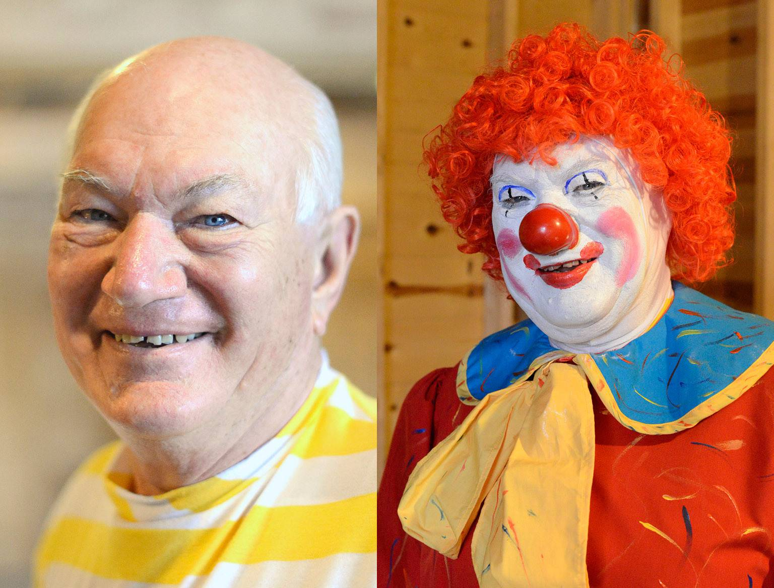 Jack Kramer of Lily Lake said he's taking a break as Polyester the clown, in part, because the perception of some is that clowns are scary.