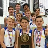 The boys cross country team from St. Thomas of Villanova in Palatine won the state championship in Normal.