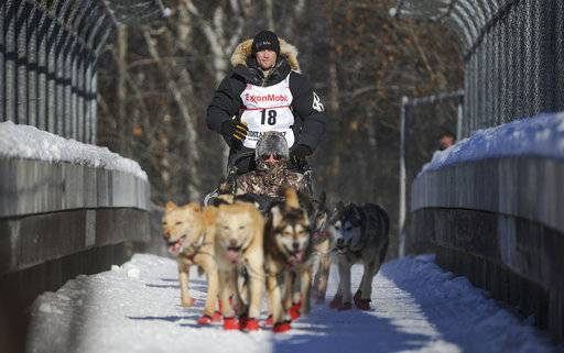 4-time Iditarod winner named as musher in dog doping case