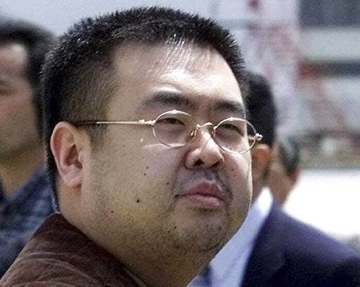 FILE - This May 4, 2001, file photo shows Kim Jong Nam, estranged half-brother of North Korea's leader Kim Jong Un, in Narita, Japan. Eight months after the audacious assassination of Kim Jong Nam, a Malaysian court is trying to unweave a complicated web of deception, political intrigue and cold-blooded brutality - a scheme allegedly cooked up by a network of North Koreans who have never, and almost certainly never will, set foot in the courthouse. (AP Photos/Shizuo Kambayashi, File)