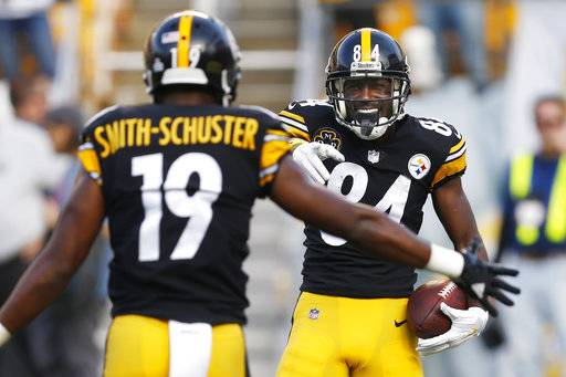 Even amid latest Bryant drama, Steelers control AFC North