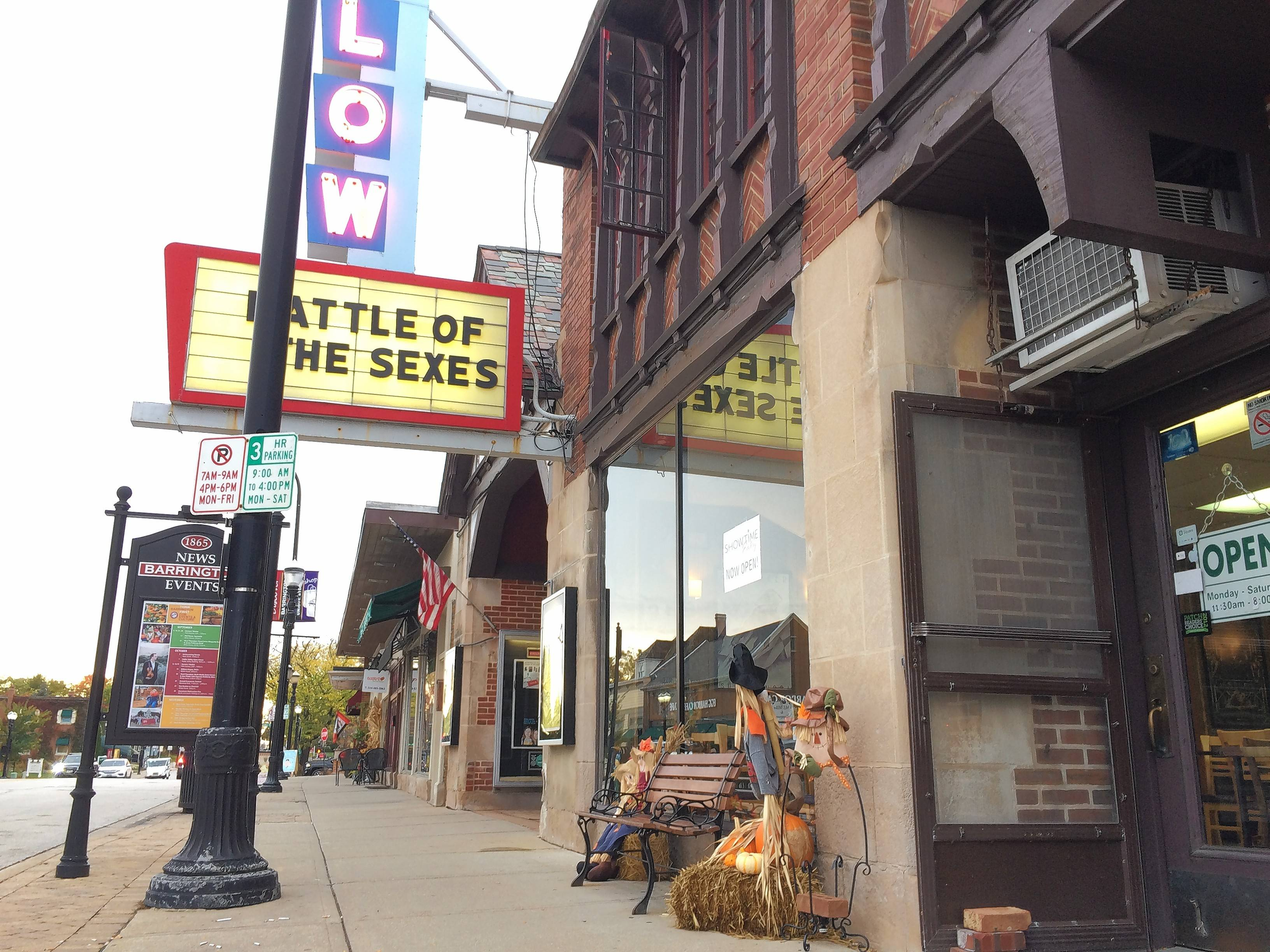 Barrington village board trustees have agreed to provide a grant to help boost the exterior appearance of a new restaurant that replaced Boloney's Sandwich Shop adjacent to the downtown Catlow Theater.