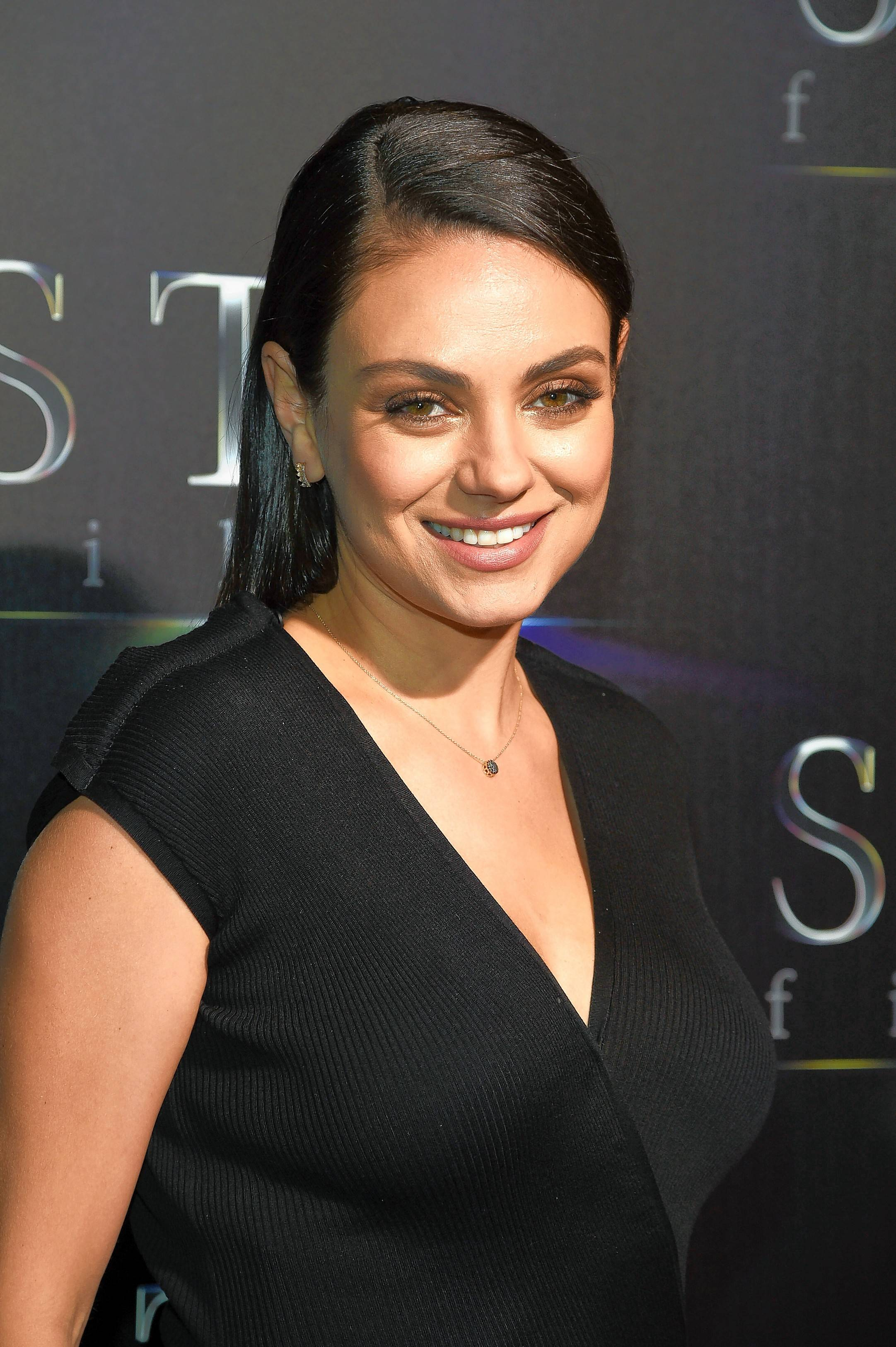 "Mila Kunis, seen here in a photo from the STX Films State of the Industry presentation earlier this year, was in Chicago Tuesday to promote the upcoming ""A Bad Moms Christmas"" when talk turned to sexual harassment in Hollywood."