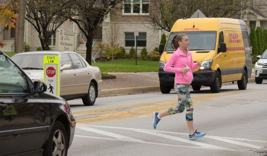 Elmhurst officials are concerned about safety at the crossing of the Illinois Prairie Path and York Road, where 1,000 path users and 15,000 vehicles come together each day.
