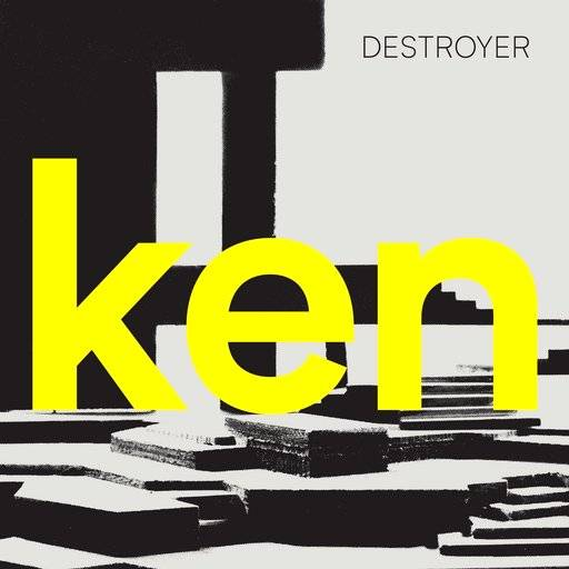 "This cover image released by Merge Records shows ""ken,"" the latest release by Destroyer. (Merge Records via AP)"
