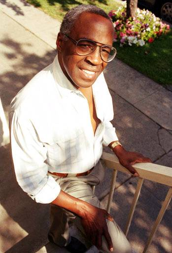 "FILE - In this Sept. 4, 1991 file photo, actor Robert Guillaume poses for a portrait in Los Angeles. Guillaume, who won Emmy Awards for his roles on ""Soap� and ""Benson,� died Tuesday, Oct. 24, 2017 in Los Angeles at age 89. Guillaume's widow Donna Brown Guillaume says he had been battling prostate cancer. (AP Photo/Chris Martinez, File)"