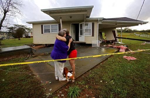 Severe weather slams Carolinas, many without power