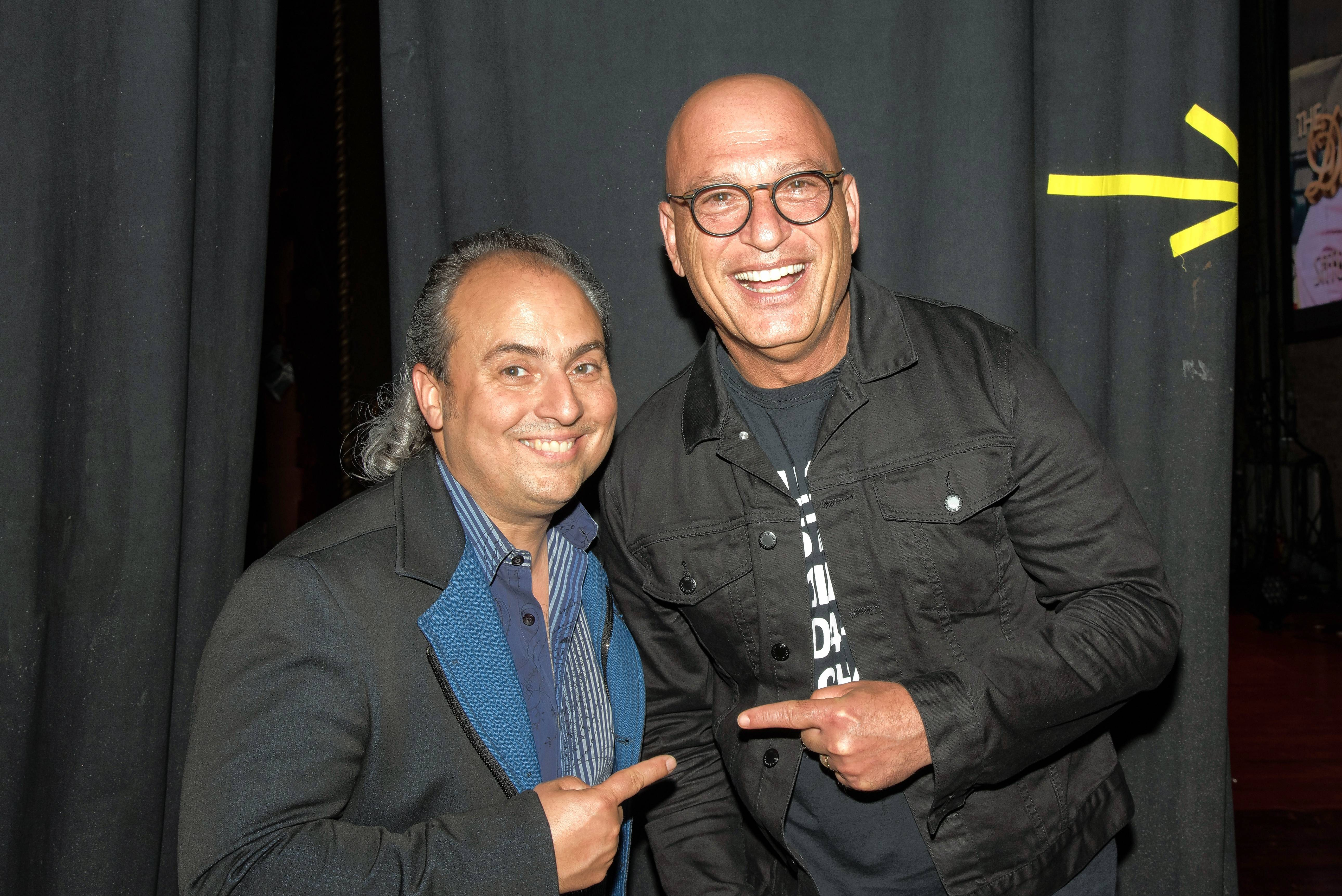 "Comedian Howie Mandel, one of the judges and hosts of ""America's Got Talent,"" brought his stand-up routine to Ron Onesti's Arcada Theatre in St. Charles last week."