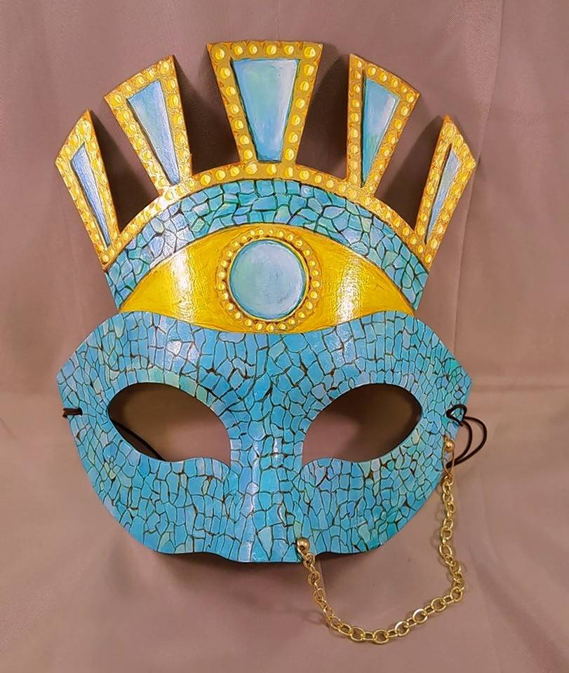 "Check out the artist-created masks being sold as part of Water Street Studios' ""Project Fusion: The Big Reveal."""