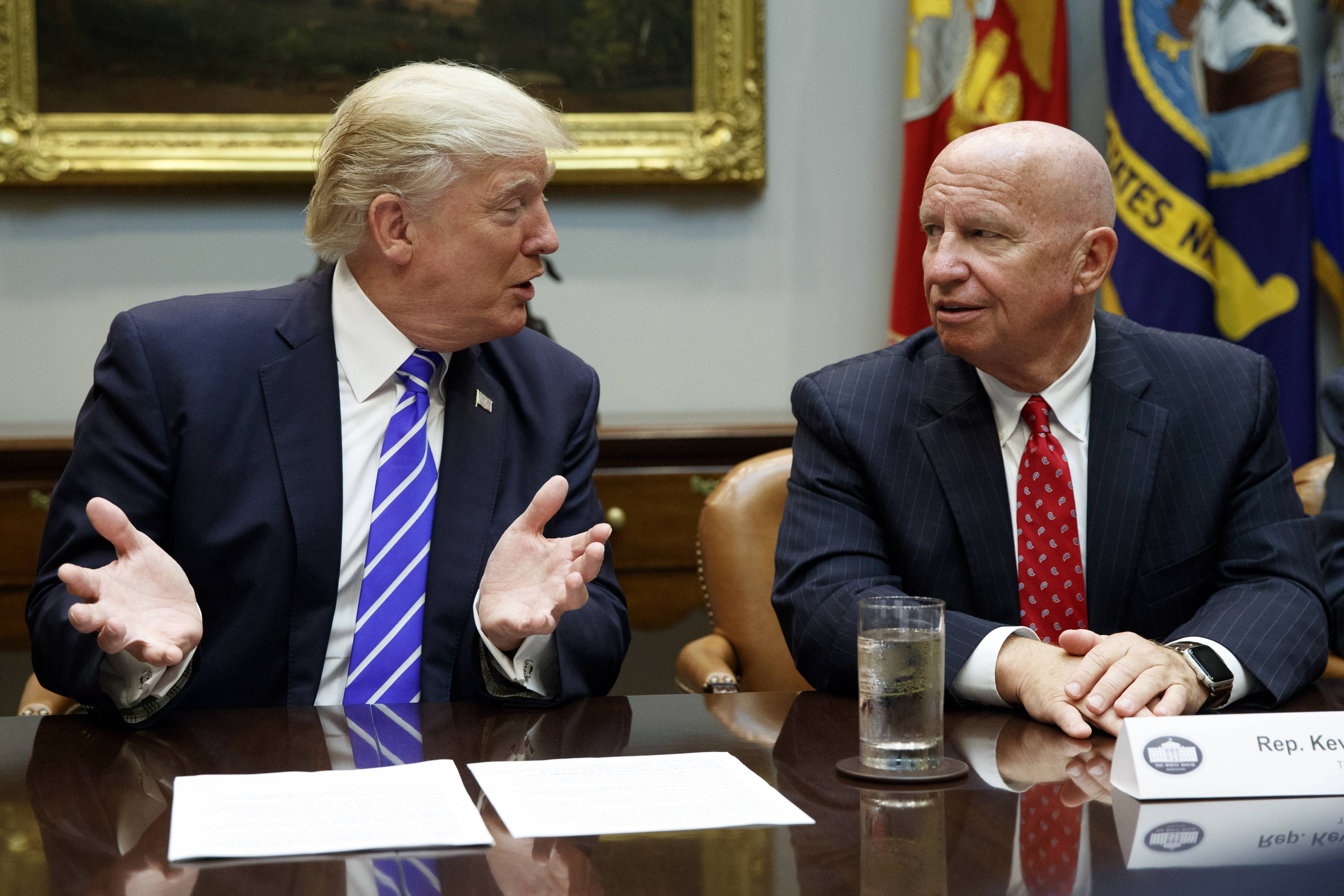 "Congressman Kevin Brady, R-Texas, chairman of the tax-writing Ways and Means Committee, is one of the main proponents of changing the 401(k) rules, a major disagreement with President Donald Trump, who tweeted Monday that 401(k)s are a ""great and popular middle class tax break"" that he does not want to change."