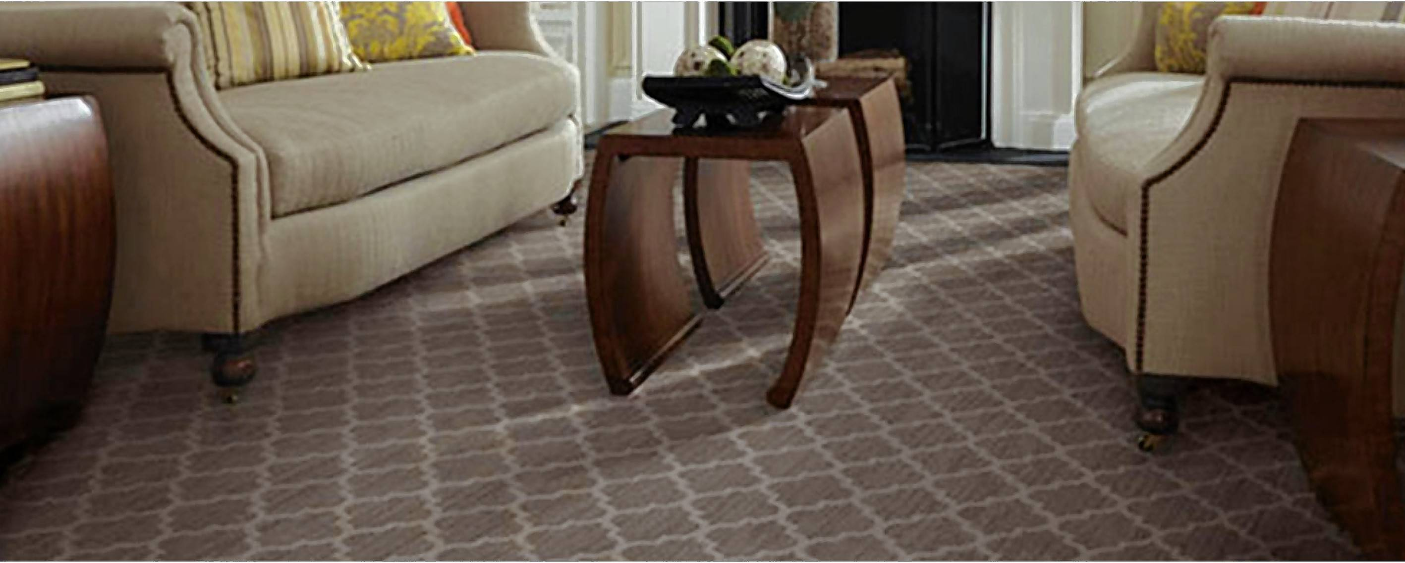 Wall-to-wall carpeting comes in a multitude of color and pattern combinations.