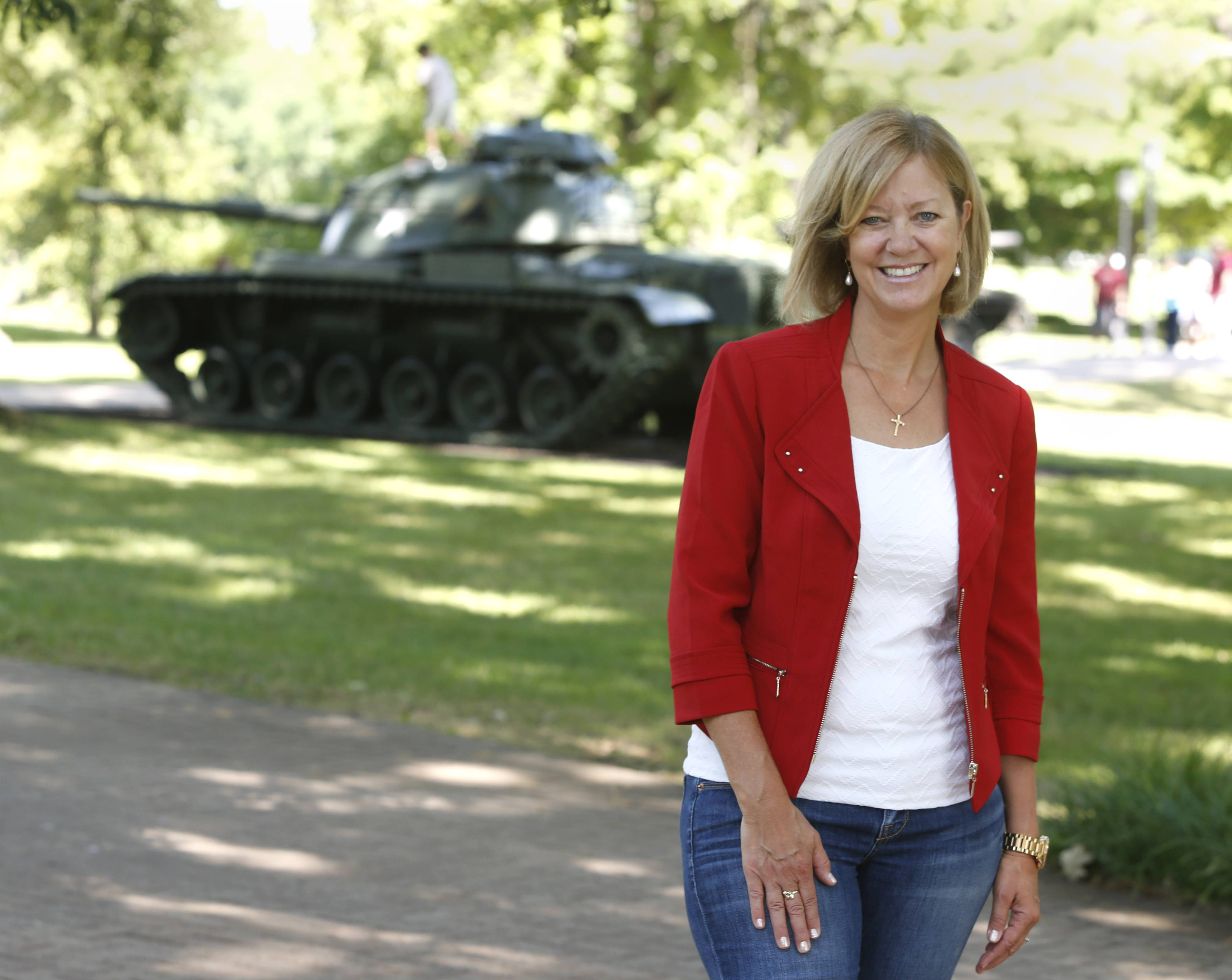 State Rep. Jeanne Ives is circulating petitions to challenge Gov. Bruce Rauner in the Republican primary.