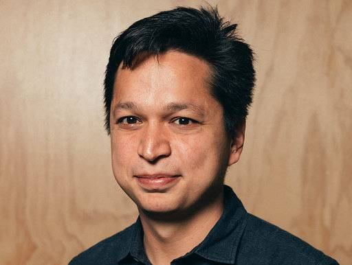 This photo provided by Pinterest shows company co-founder and CEO Ben Silbermann. Pinterest often gets lumped in with social media apps like Instagram, Snapchat or Facebook, but people don't go on it to meet new people or to keep in touch with old classmates. Rather, it's to get in touch with your own interests, tastes and hobbies. (Courtesy of Pinterest via AP)