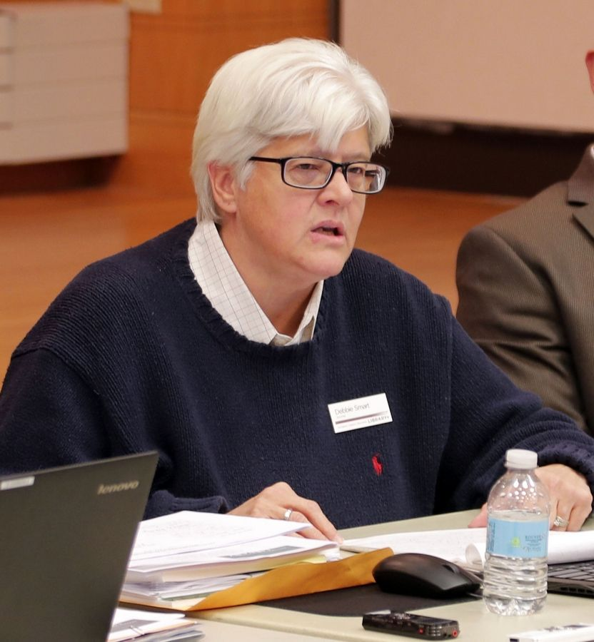 Arlington Heights Memorial Library Board President Debbie Smart defended the library board's support of diversity and inclusion initiatives Monday during a board meeting.
