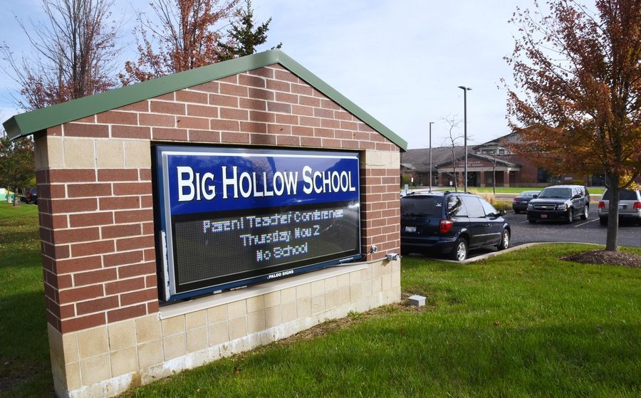 Big Hollow Elementary District 38 in Ingleside had a 6.6 percent increase on meeting/exceeding standardized test measures.