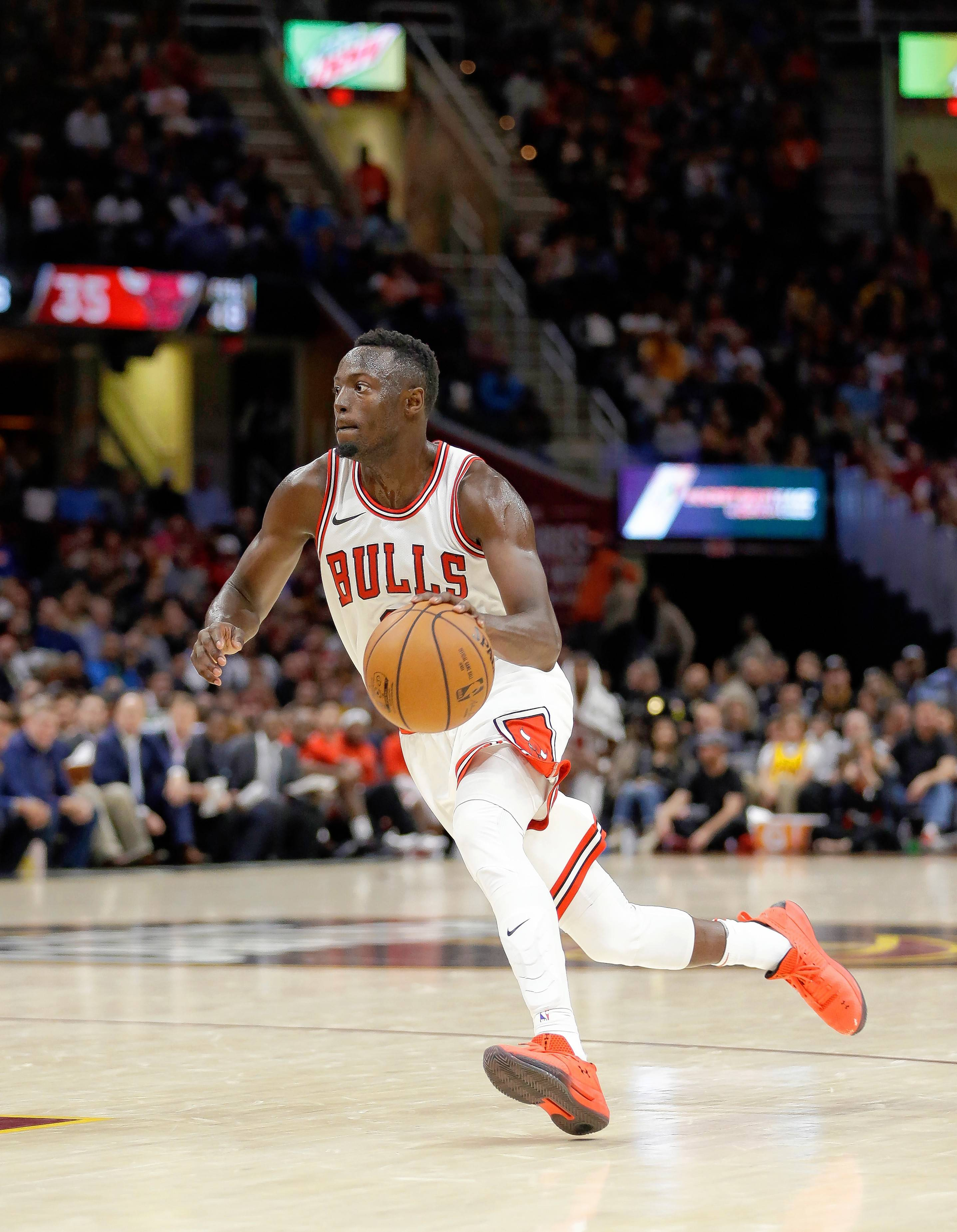 Chicago Bulls point guard Jerian Grant is average 6.6 assists per game to start the season, but he's hitting only 33.3 percent of his shots.