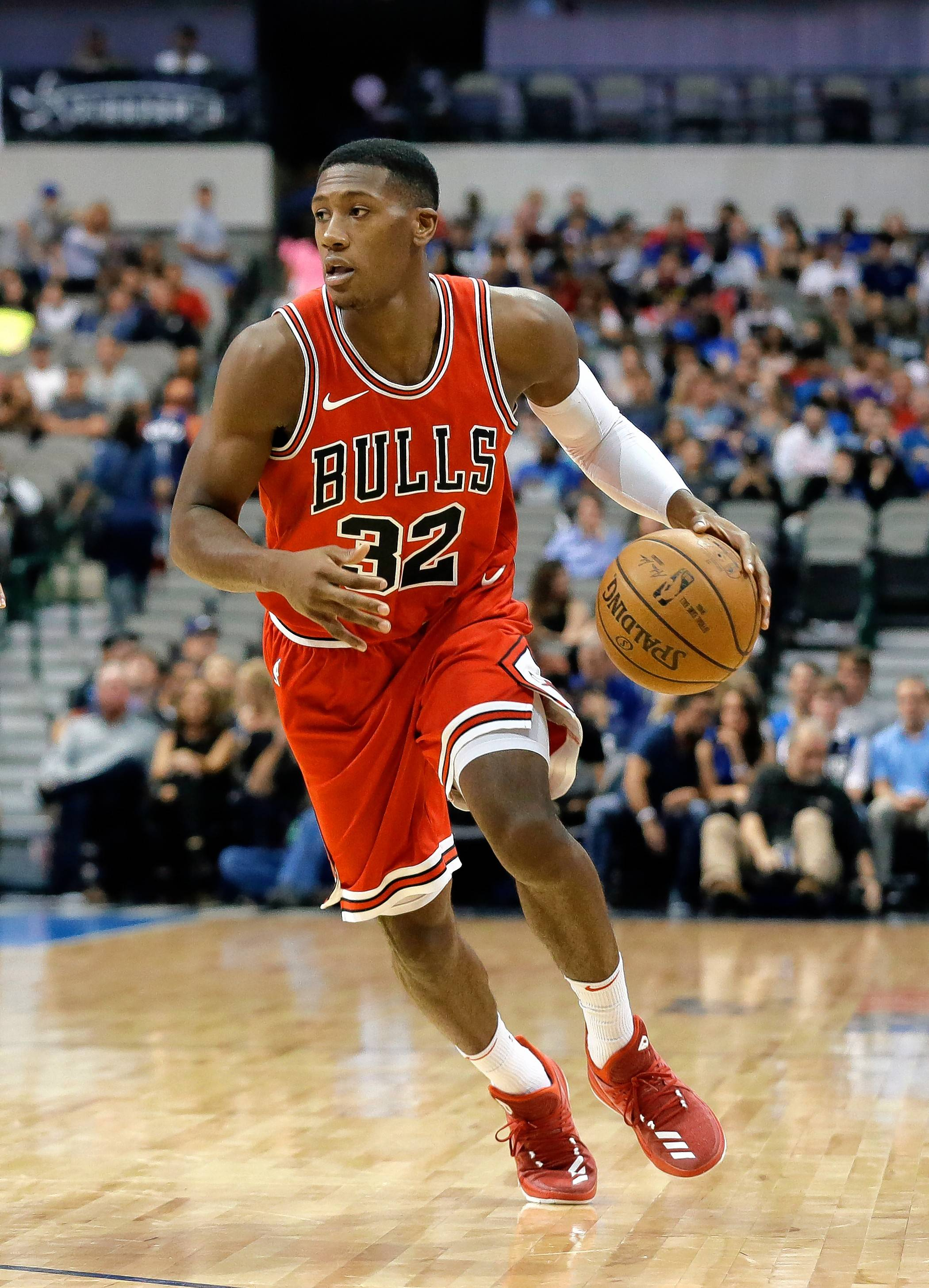 The Chicago Bulls expect Kris Dunn to become their starting point guard, but he is just returning to action after suffering a dislocated finger.