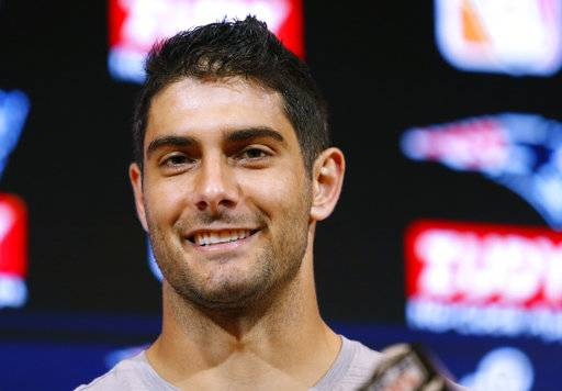 49ers acquire QB Garoppolo from Patriots for 2nd-round pick