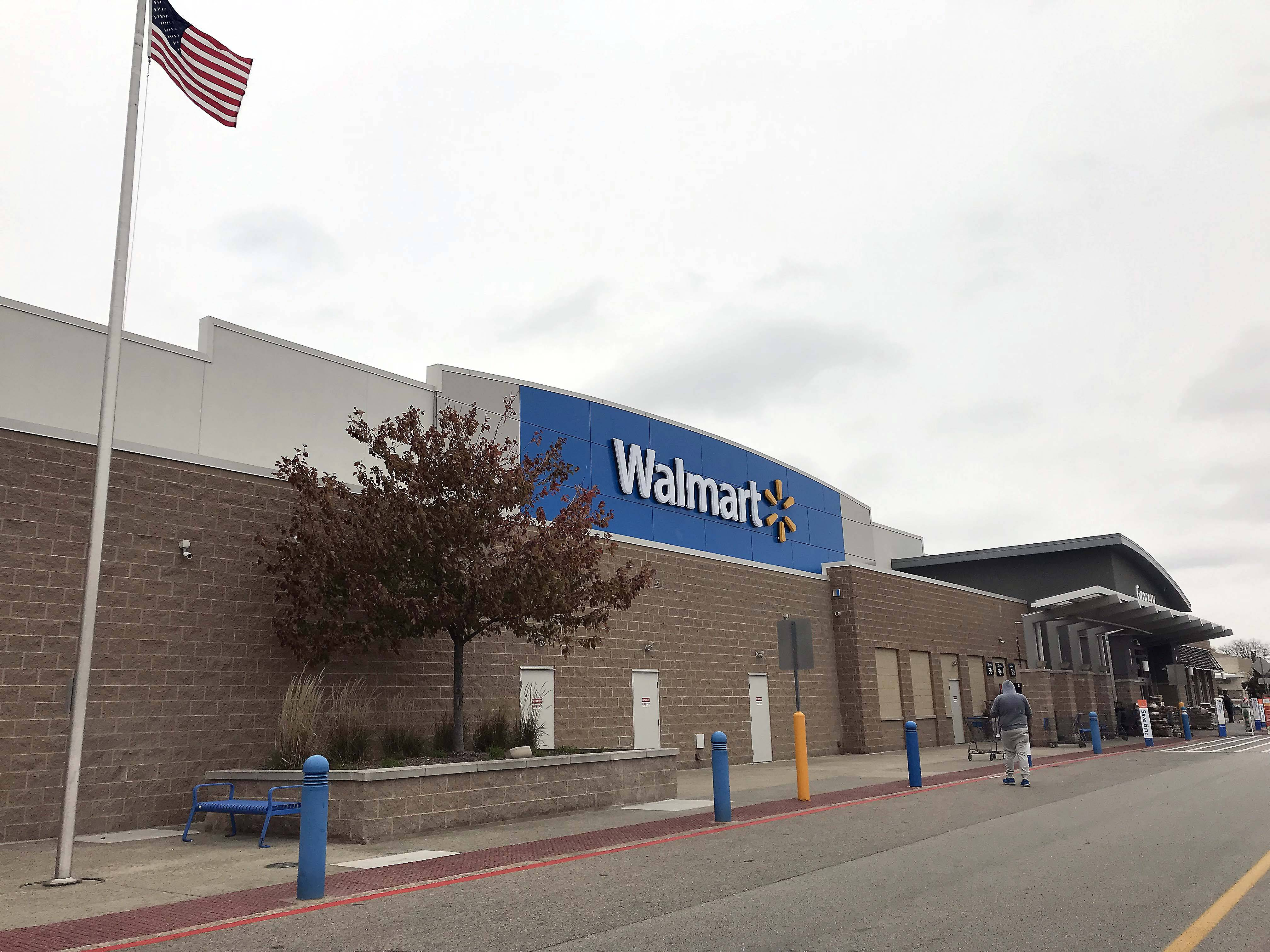 Elgin police are investigating a report from a 21-year-old Walmart employee who said two other employees locked her in a freezer Sunday.