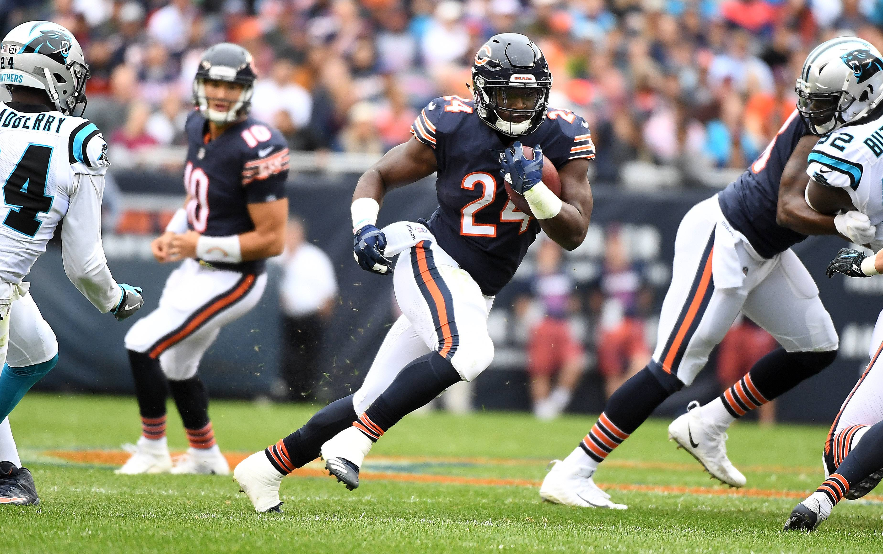 Howard's productivity one constant in Bears offense
