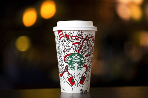 Starbucks releases a color-it-in-yourself holiday cup