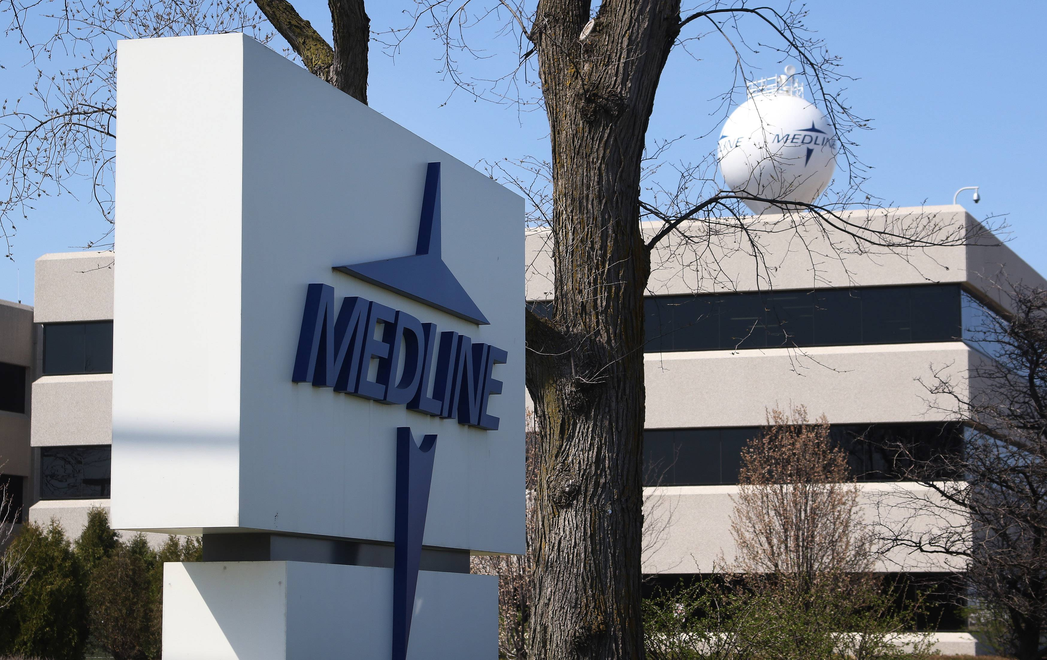 Medline, with operations in Mundelein, said it will buy Centurion Medical Products, a Michigan-based medical supplies manufacturer.