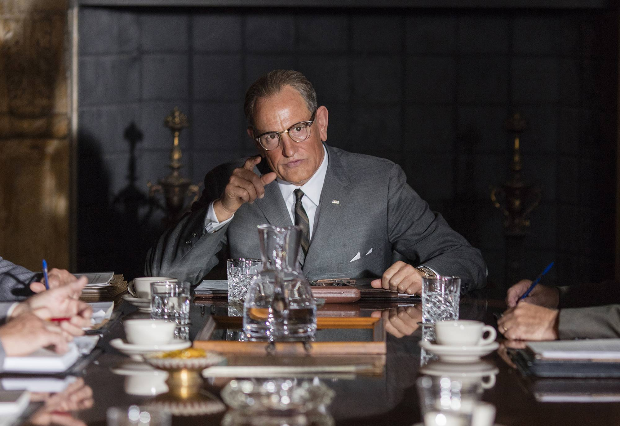 "Woody Harrelson channels Lyndon Johnson in ""LBJ,"" which focuses on the former president's fight for civil rights."