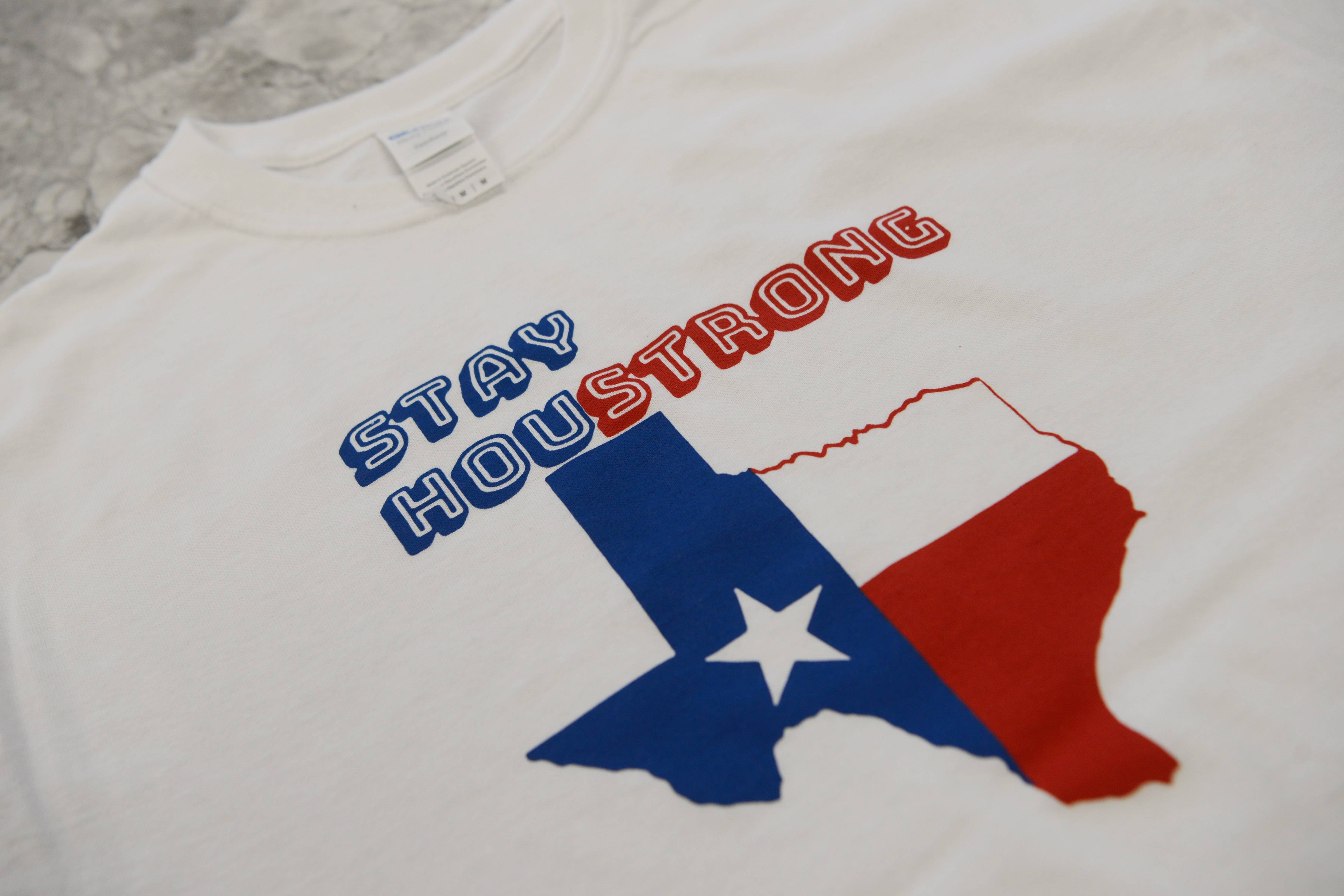 Barrington Regional Hurricane Relief will be an effort to repair houses for Hurricane Harvey victims in the Houston area. Barrington High School students are selling these T-shirts as a fundraiser for the effort.
