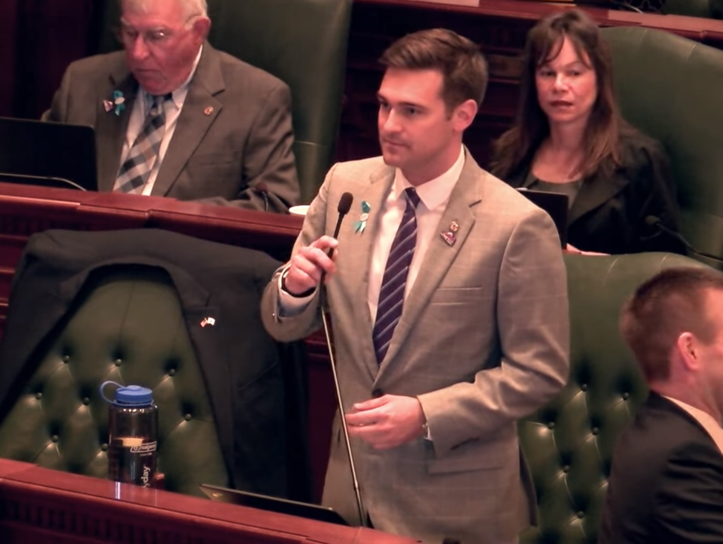 Rep. Sauer Co-Sponsors Bill to Require New Sexual Harassment Training for GA Members