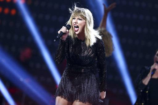 "Big Machine Records told The Associated Press on Friday that pre-orders for Taylor Swift's ""reputation"" album, to be released Nov. 10, has doubled the pre-orders for Swift's ""1989"" album a week before its release in 2014."